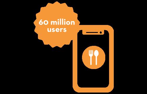 60 million smartphone users